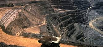 Gold Mine in Witwatersrand Basin, South Africa